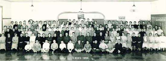 Class of 1956.  Click to see full-size image