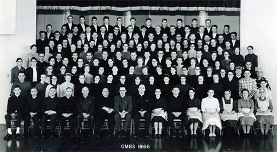Class of 1966.  Click to see full-size image